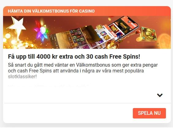 Hämta ditt välkomsterbjudande nu hos årets casino som är LeoVegas!