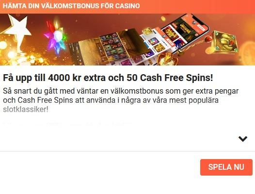 Prova din lycka om din casinovinst på LeoVegas!