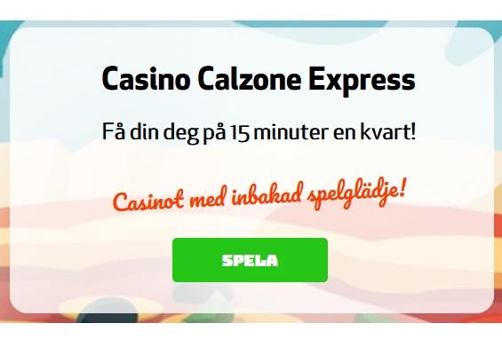Spela nytt varje dag under jul på Casino Calzone!