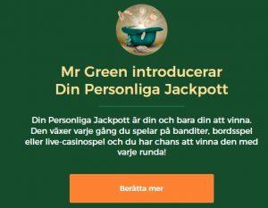 Detta är jackpotten hos Mr Green Casino!